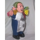 【ペルー産】伝説のエケッコー人形 19cm(ミドルサイズ) ダークブルー 写真2