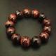 天然石 レッドタイガーアイ ブレスレット 16mm玉 - 縮小画像2