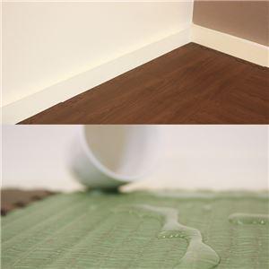 やさしいジョイントマット ナチュラル 12枚入 ラージサイズ(60cm×60cm) 畳(たたみ) 〔大判 クッションマット 床暖房対応 赤ちゃんマット〕
