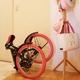 20インチ折畳自転車カラーモデル ブラック×ピンク 写真4