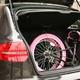 20インチ折畳自転車カラーモデル ブラック×ピンク 写真6