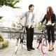 20インチ折畳自転車カラーモデル ブラック×ホワイト 写真4