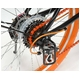 ドウシシャ 20インチ 折り畳み自転車カラータイヤモデル 外装6段変速付 ブラック×オレンジ GFD-206TOR - 縮小画像3