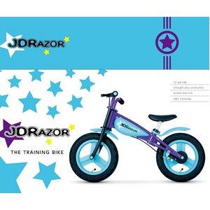 JDRAZOR トレーニングバイク ブルー - 拡大画像