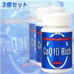 コエンザイムQ10配合 リッチサプリメント 90粒3個セット