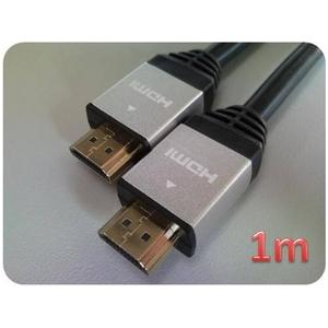 HDMIケーブル 1.0m (シルバー) ECOパッケージ HDM10-882SV-2 2個セット h02