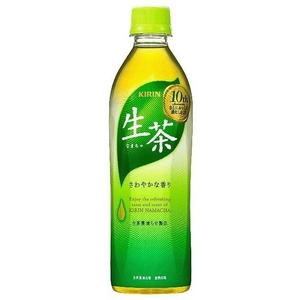 キリン 生茶 500mlPET 48本セット (2ケース)