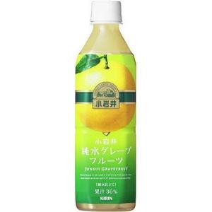 キリン 小岩井 純水グレープフルーツ 500mlPET 48本セット (2ケース)