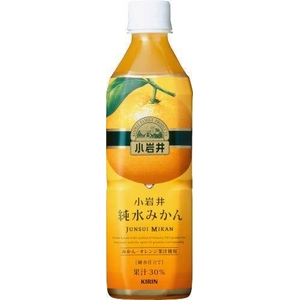 キリン 小岩井 純水みかん 500mlPET 48本セット (2ケース)