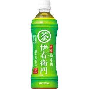 サントリー 緑茶 伊右衛門 500mlPET 48本セット (2ケース)