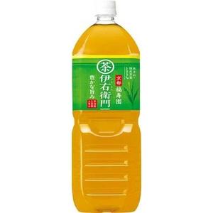 サントリー 緑茶 伊右衛門 2LPET 12本セット (2ケース)