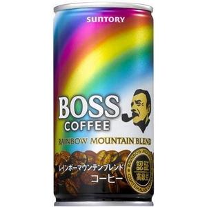 サントリー BOSS レインボーマウンテンブレンド 190g缶 60本セット (2ケース)