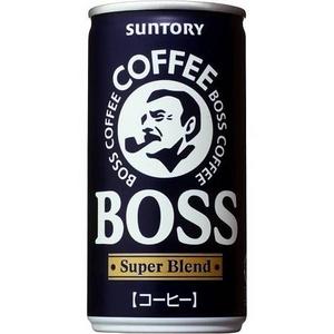 サントリー BOSS スーパーブレンド 190g缶 60本セット (2ケース)