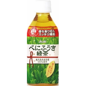 アサヒ べにふうき緑茶 350mlPET 48本セット (2ケース)
