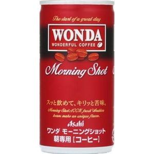 アサヒ WONDA モーニングショット 190g缶 60本セット (2ケース)