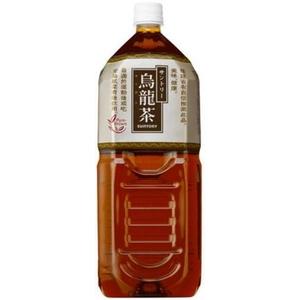 サントリー 烏龍茶 2LPET 12本セット (2ケース)