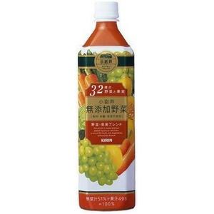 キリン 小岩井 無添加野菜 32種の野菜と果実 930gPET 24本セット (2ケース)