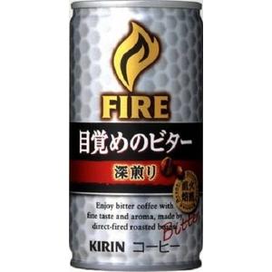 キリン FIRE ファイア 目覚めのビター 深煎り 185g缶 90本セット (3ケース)