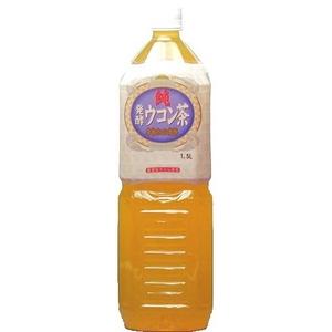 純発酵ウコン茶 1.5LPET 16本セット (2ケース) - 拡大画像