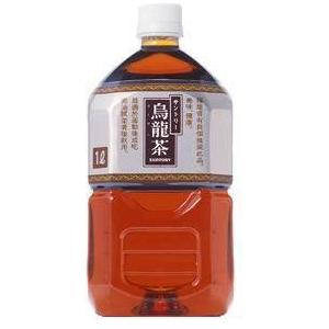 サントリー 烏龍茶 1LPET 24本セット (2ケース)