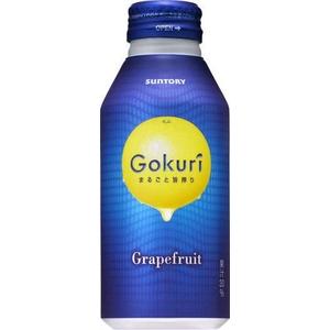 サントリー Gokuri グレープフルーツ 400gボトル缶 48本セット (2ケース)