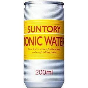 サントリー トニックウォーター 200ml缶 60本セット【業務用炭酸・トニック】 (2ケース)