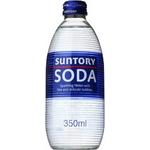 ソーダ 350ml瓶 48本セット【業務用炭酸水・ソーダ】 (2ケース)