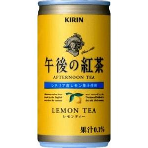 キリン 午後の紅茶 レモンティー 190g缶 90本セット (3ケース)