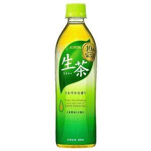 キリン 生茶 500mlPET 240本セット (10ケース)