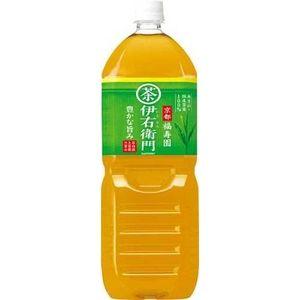 サントリー 緑茶 伊右衛門 2LPET 24本セット (4ケース)