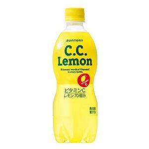 サントリー C.C.レモン 500mlPET 144本セット (6ケース)
