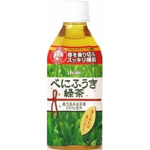 アサヒ べにふうき緑茶 350mlPET 96本セット (4ケース)