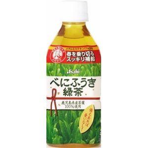 アサヒ べにふうき緑茶 350mlPET 240本セット (10ケース)