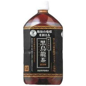 サントリー 黒烏龍茶 1LPET 72本セット (6ケース)【特定保健用食品】