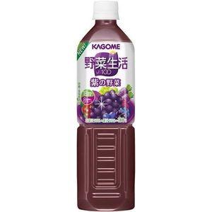カゴメ 野菜生活100 紫の野菜 930gPET 48本セット (4ケース)