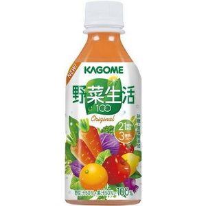 カゴメ 野菜生活100 オリジナル 360gPET 72本セット (3ケース)