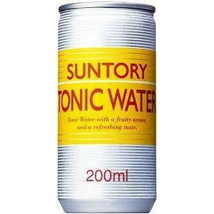 サントリー トニックウォーター 200ml缶 180本セット【業務用炭酸・トニック】 (6ケース)