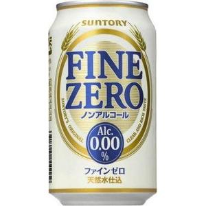 サントリー ファインゼロ 350ml缶 144本セット (6ケース)