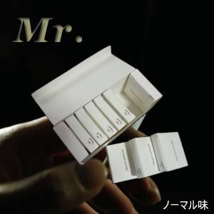 「ミスター/Mr.」用カートリッジ ノーマル味(50本入り)