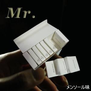 「ミスター/Mr.」用カートリッジ メンソール味(50本入り)  販売、通販
