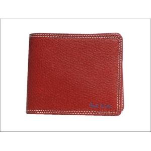 Paul Smith(ポールスミス) 小銭入れ付き 2つ折財布 レッド PSP617-20