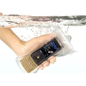 ディカパックα 携帯電話 iPhone 防水・防塵ケース WP-C11(ストレートタイプ用) - 拡大画像