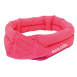 MAGICOOL Fit(マジクール フィット) ピンク  【同色3個セット】【フィットテープ付き 冷感持続ネッククーラー】 - 拡大画像