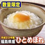 【平成22年産】 福島県産ひとめぼれ 玄米20kg(5kg×4)