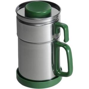油こし器 カラーコスロン《グリーン》 - 拡大画像