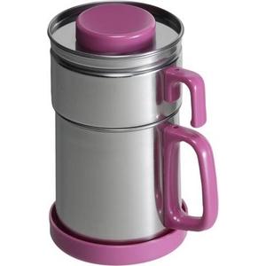油こし器 カラーコスロン《ピンク》