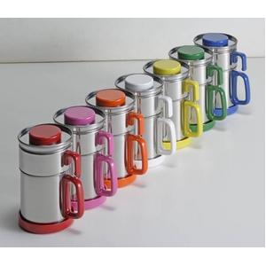 油こし器 カラーコスロン《ピンク》 - 拡大画像
