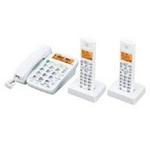 シャープ コードレス電話機(子機2台) JD-320CW【送料無料】