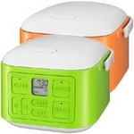 SANYO(サンヨー) 3合炊飯器 ECJ-XQ30 オレンジ(D)【送料無料】