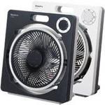 モリタ電工 扇風機(ボックス扇) MF-XR25B ブラック(K)
